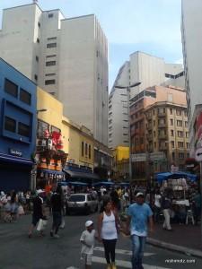 サンパウロの街