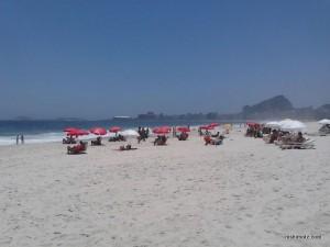 リオデジャネイロの海岸